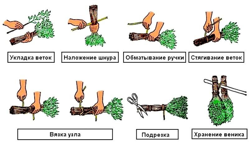 как вязать дубовые веники