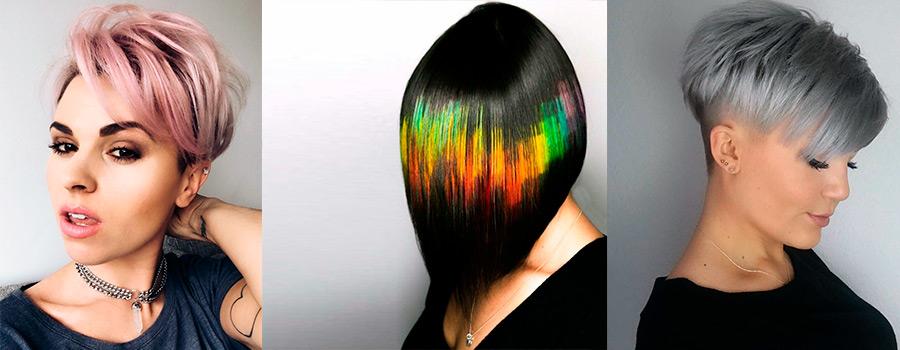 Популярные техники окрашивания на короткие волосы