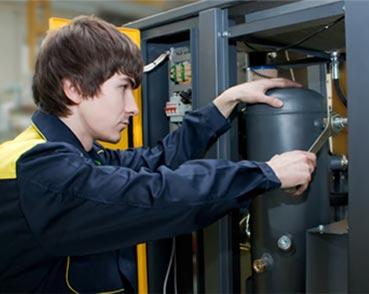 Техническое обслуживание винтового компрессора