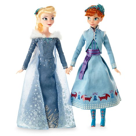 Набор кукол Эльза и Анна Холодное сердце, Приключение Олафа