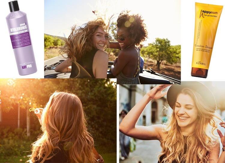Захист для волосся від сонця