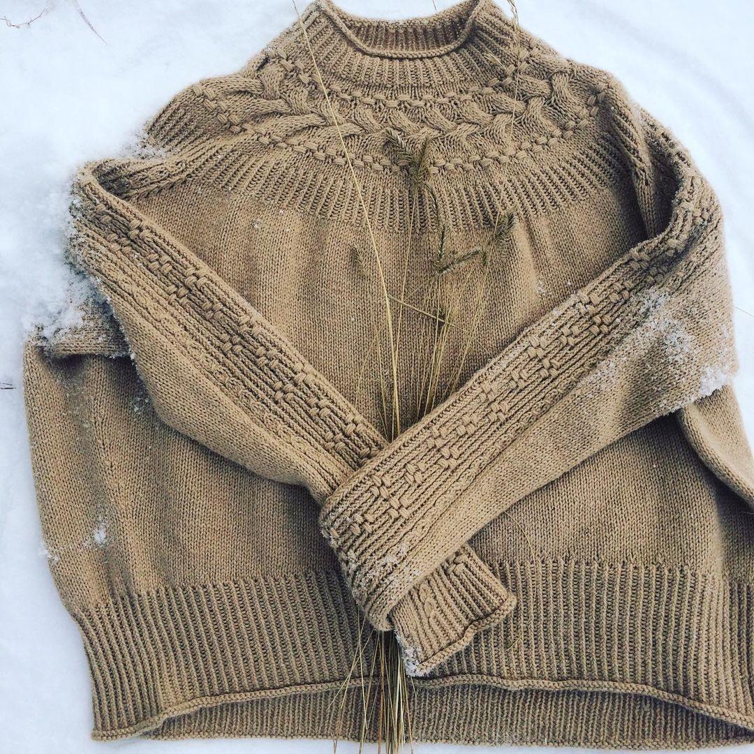 свитер верблюжий пух