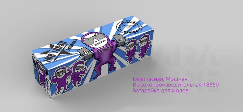 Efest IMR 18650 Li-Ion 2600mAh 40A - Безопасная, Мощная,�Высокопроизводительная 18650 батарейка для модов.