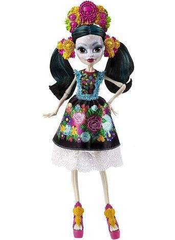 Кукла Скелита Калаверас - Коллекционная (Коллектор)