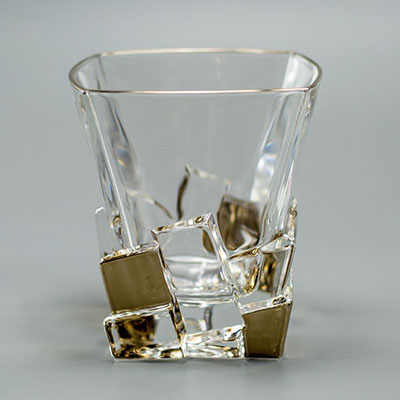 НАБОР СТАКАНОВ ДЛЯ ВИСКИ «ICE GOLD»