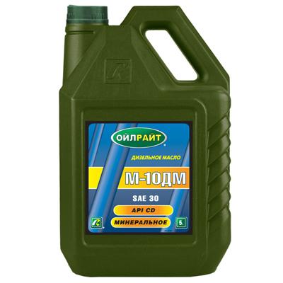 OIL RIGHT М10ДМ SAE30 - Минеральное дизельное моторное масло
