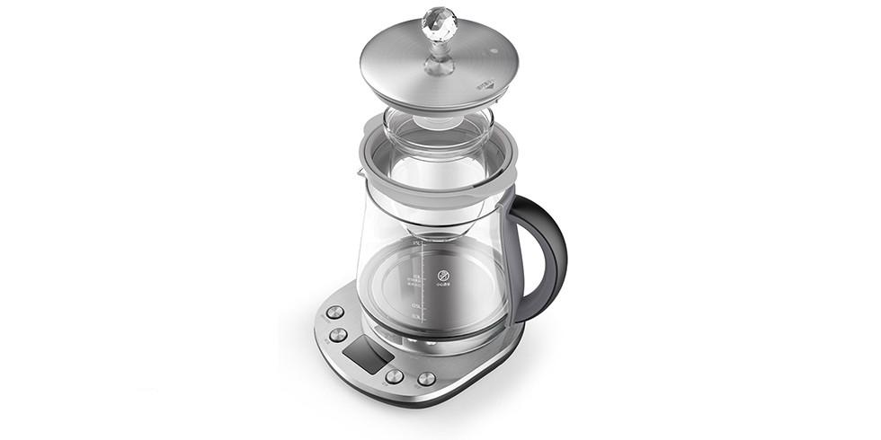 Чайник Deerma Stainless Steel Health Pot (с чашей) (DEM - YS802)