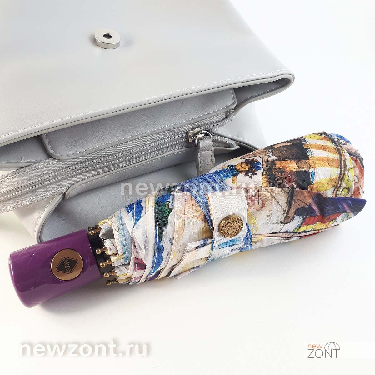 Легкий зонтик автомат Lamberti