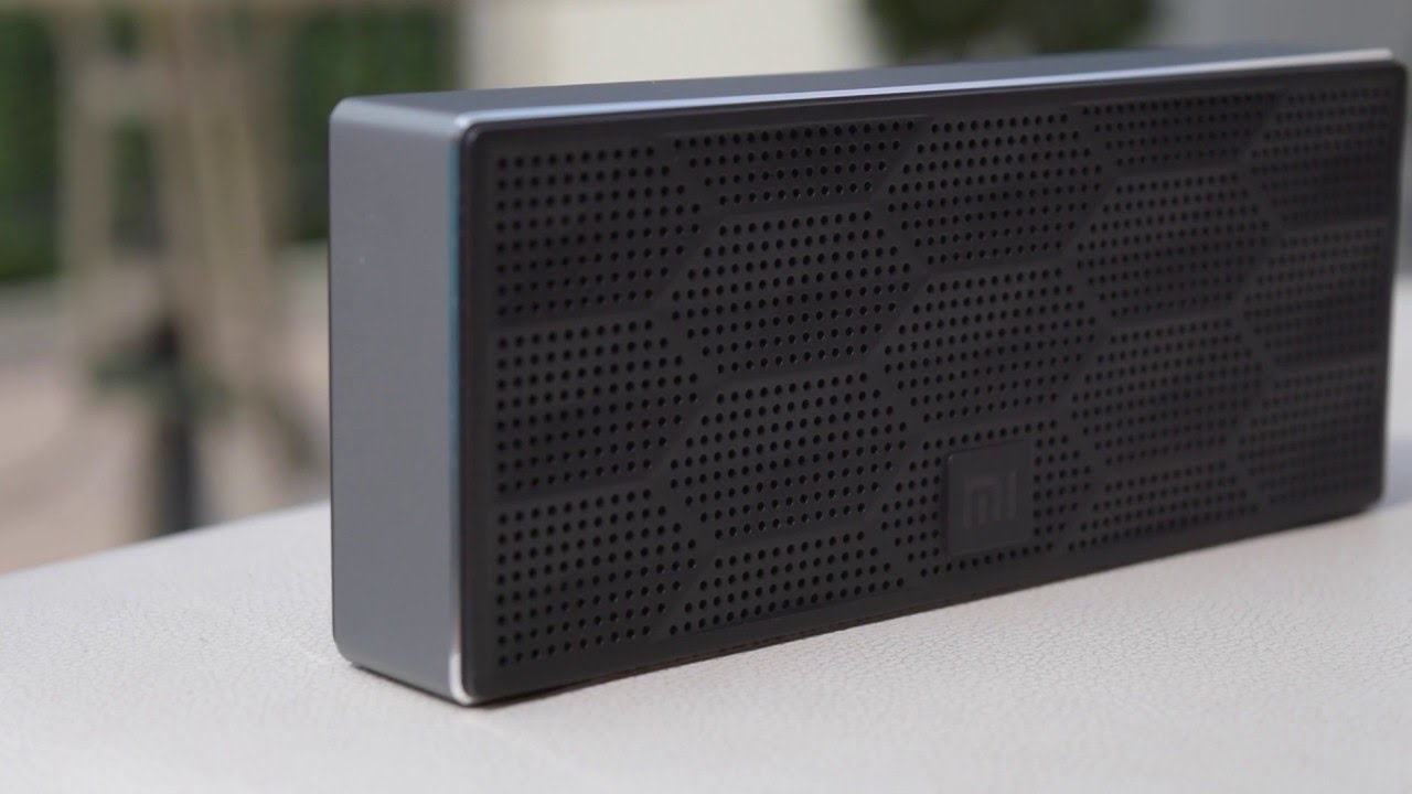 Колонка Xiaomi Square Box Bluetooth Speaker  (черная)