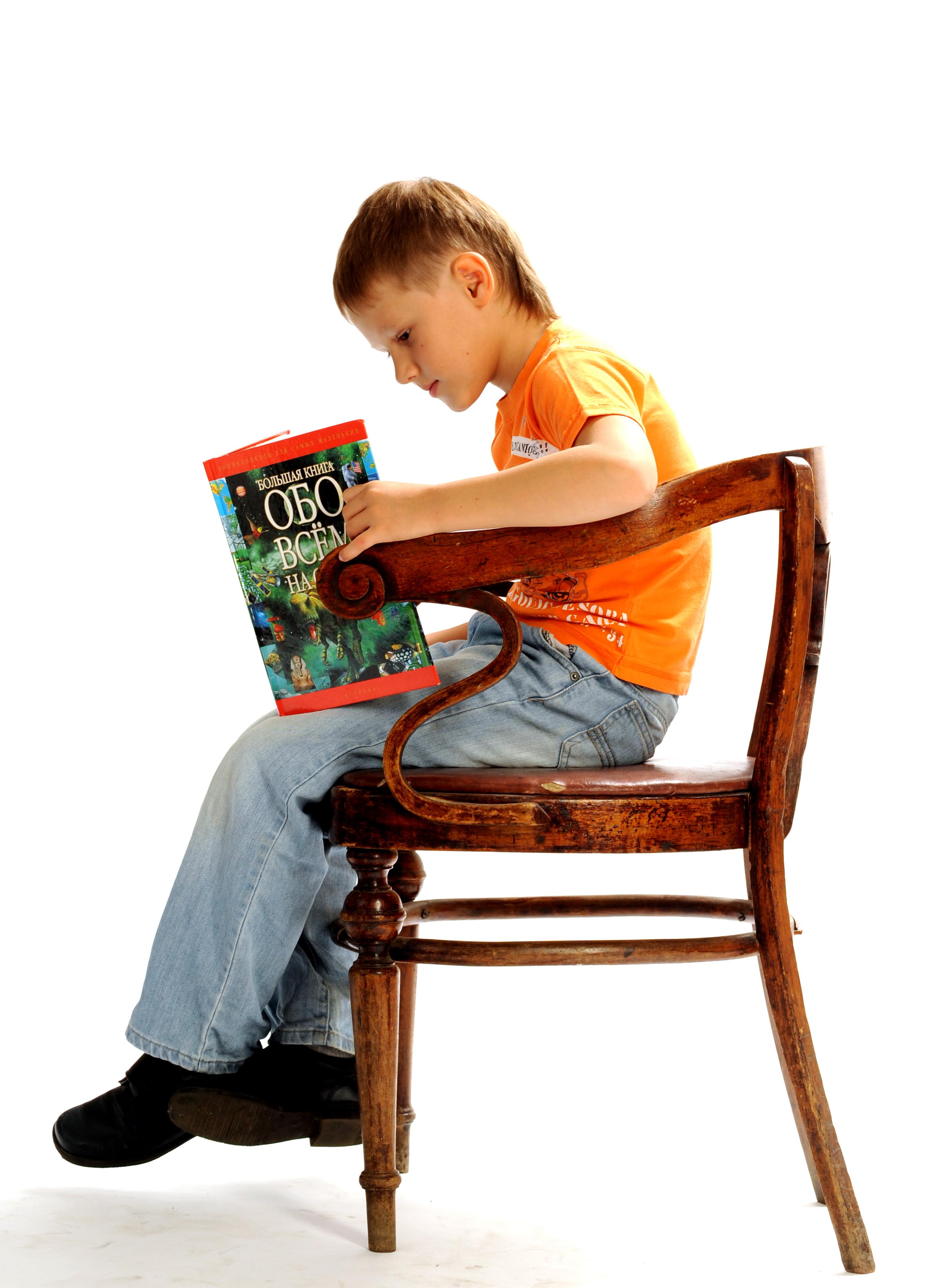 Неправильная осанка у ребенка сидя на стуле