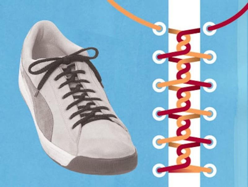 Как завязать шнурки - 9
