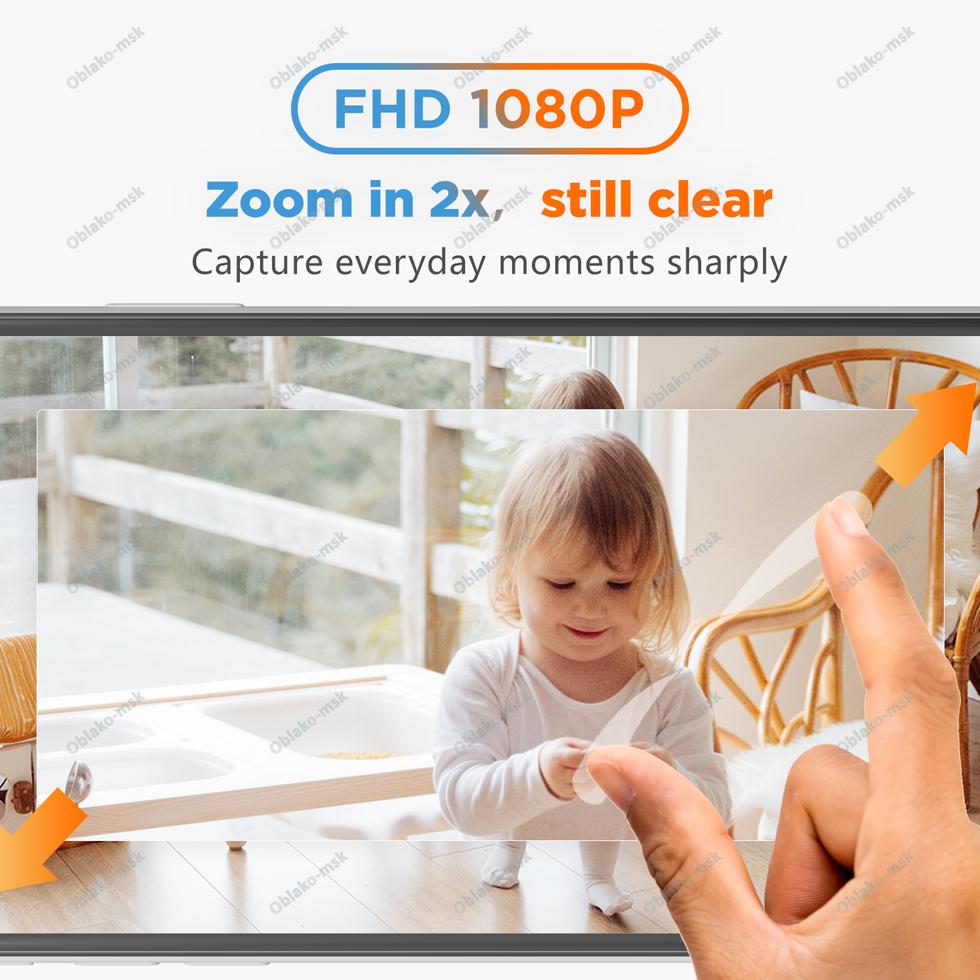 IP-видеокамера Laxihub M4-TY Mini 9S Indoor Wi-Fi 1080P c картой памяти microSD RU EAC