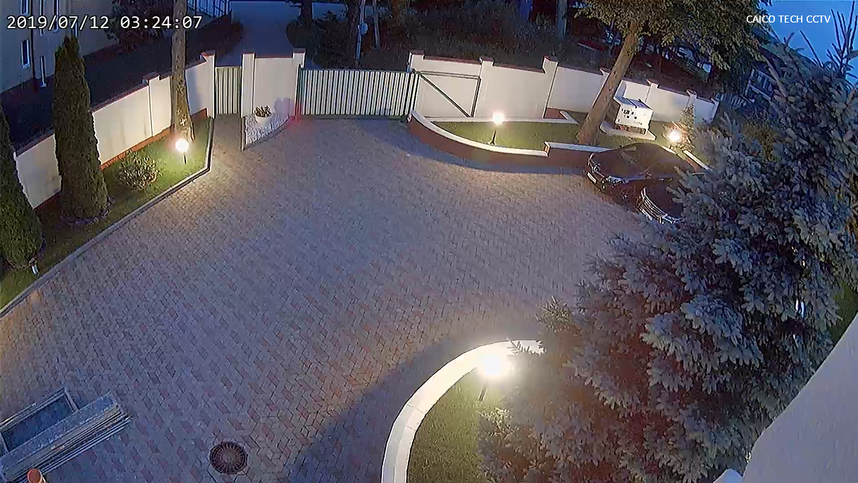 Изображение с видеокамер CAICO TECH ночь цветное изображение  mod: FY5327 В ZOOM 5X  камераа