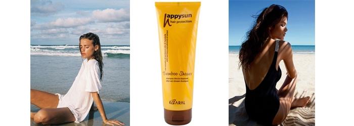 Как спрятать волосы от солнца?
