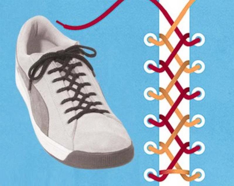 Как завязать шнурки - 10