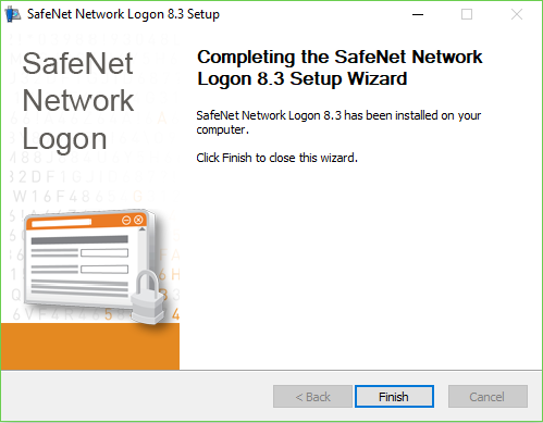 Установка SafeNet Network Logon.Шаг.5