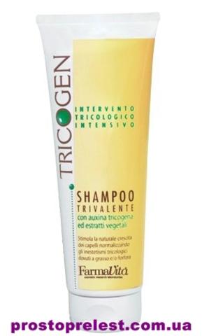 купить FarmaVita Tricogen - Шампунь против перхоти и выпадения волос