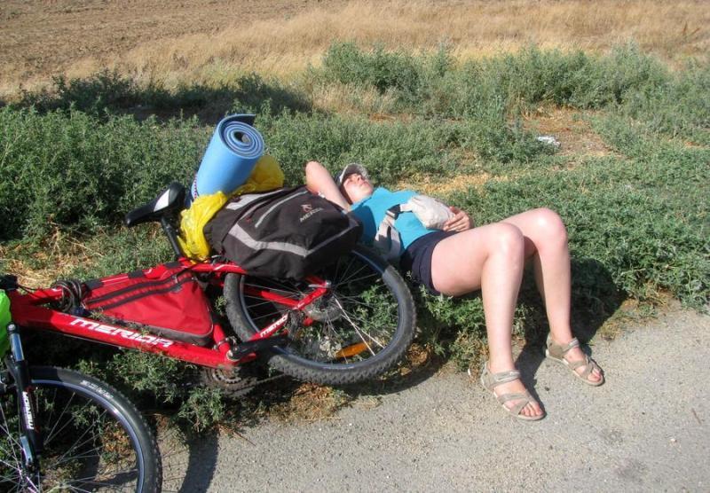 Отдых велотуриста