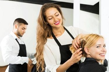 парикмахер массаж