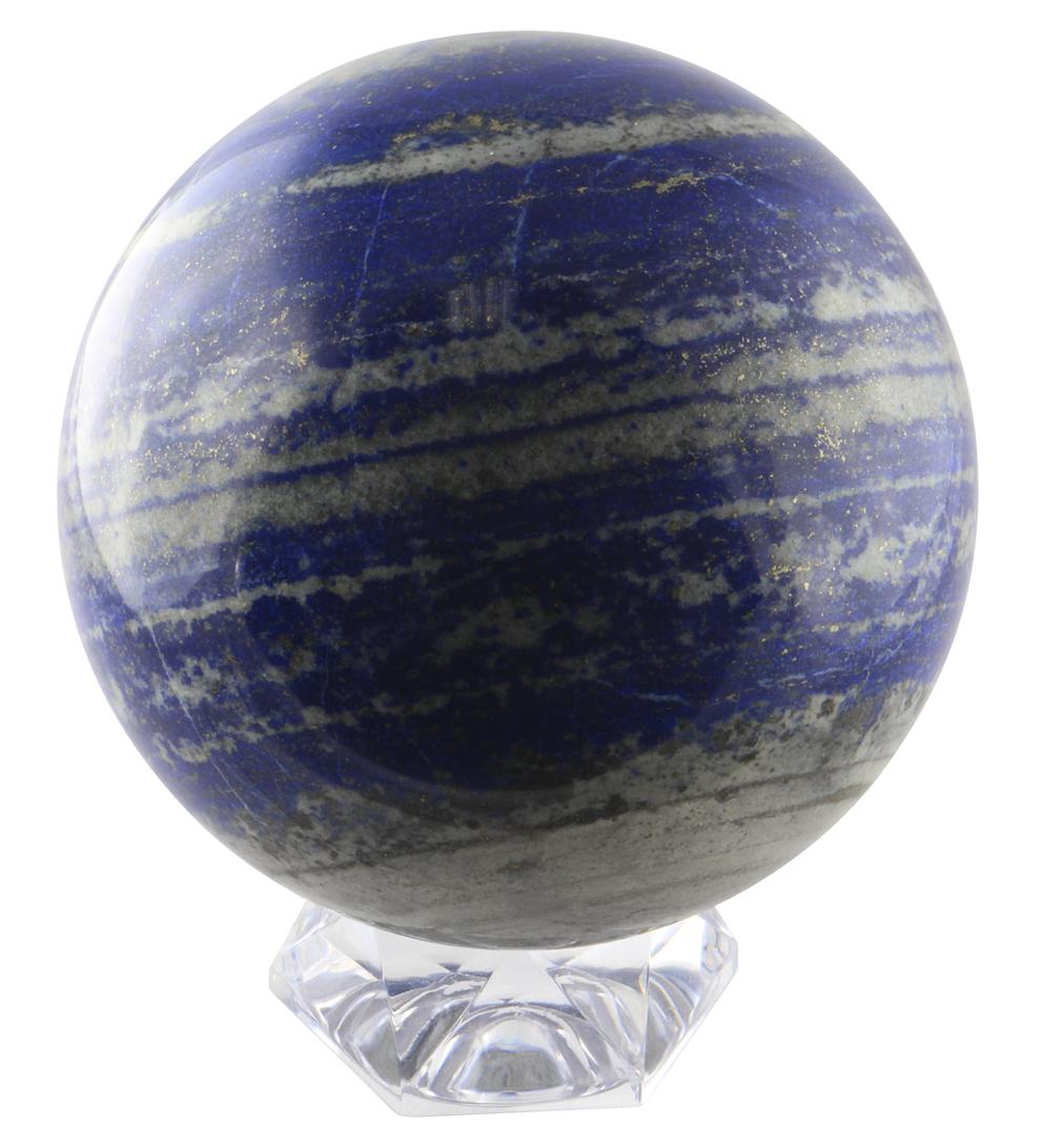 Натуральный шар из лазурита