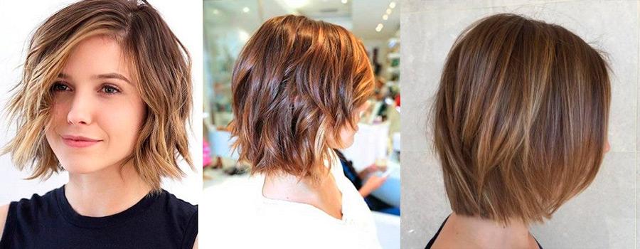 Модные цвета для окрашивания на короткие волосы