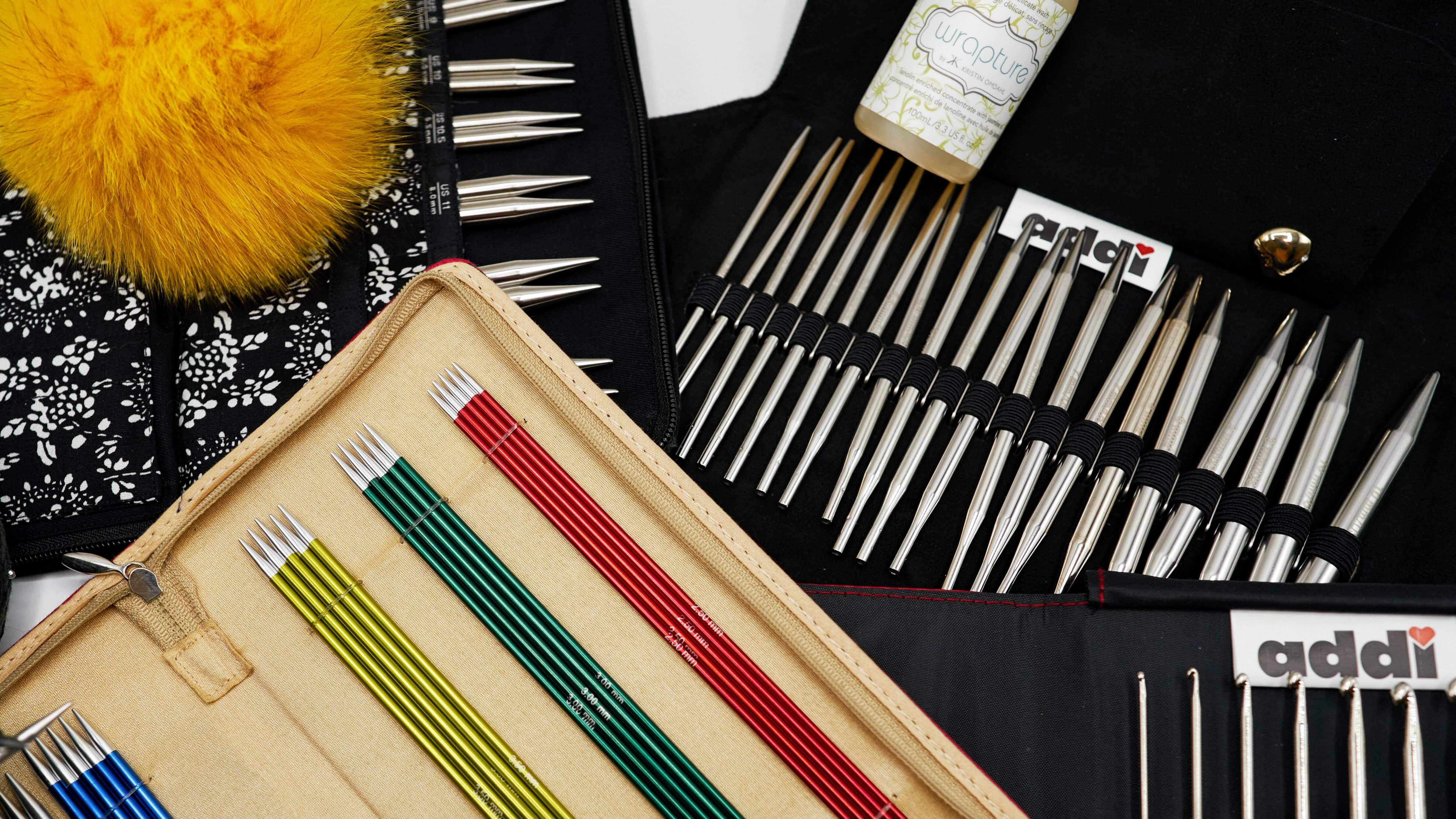 Инструменты и аксессуары для вязания