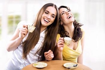 чай с подругой