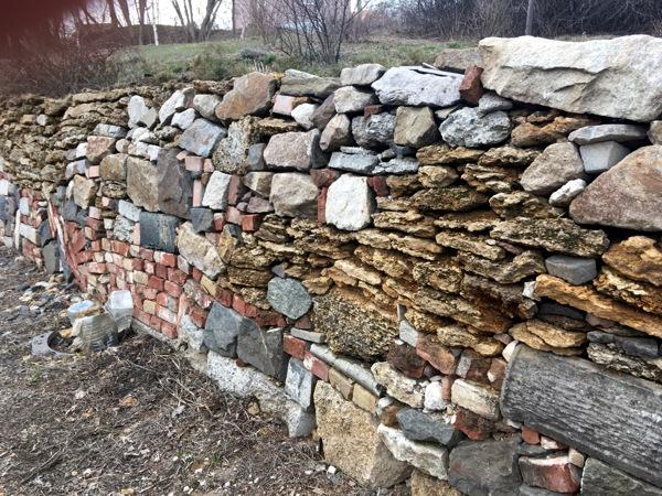 Подпорная стенка из любого камня
