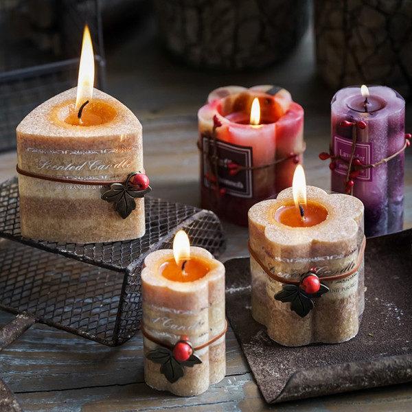 Красивые ароматические свечи