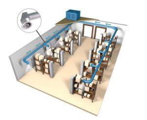 проект вентиляции склада