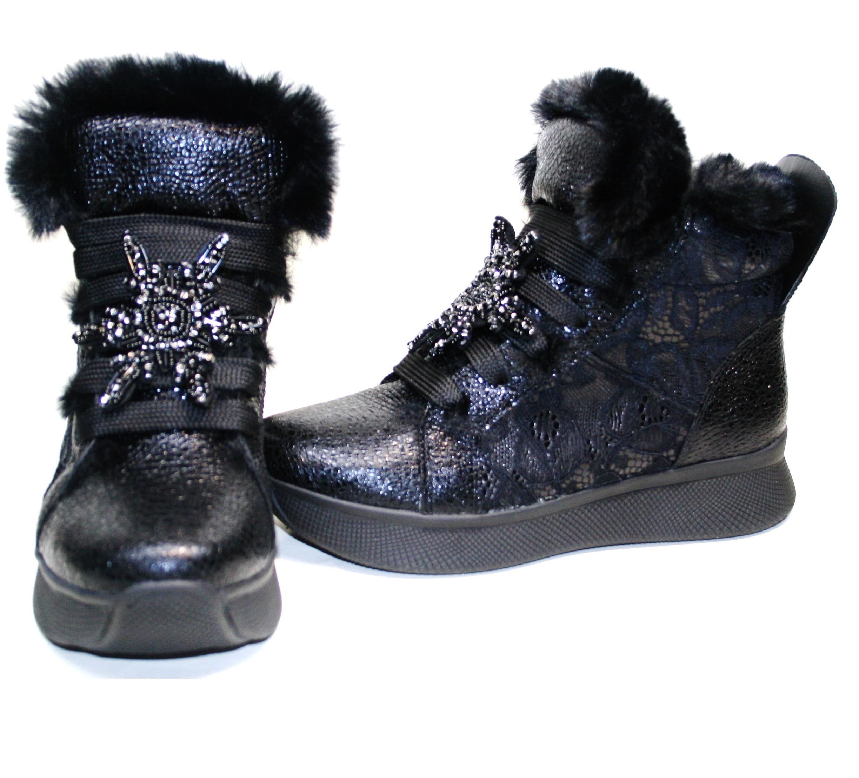 Кроссовки ботинки на меху