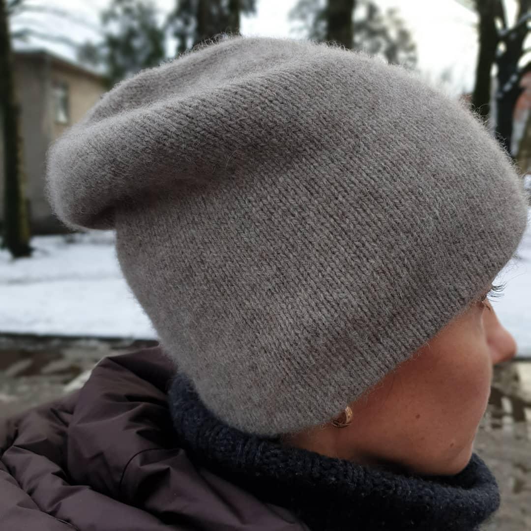 шапка бини из яка sarlag