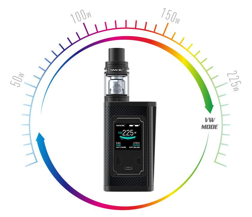 SMOK Majesty Carbon Fiber + TFV8 X-Baby Kit