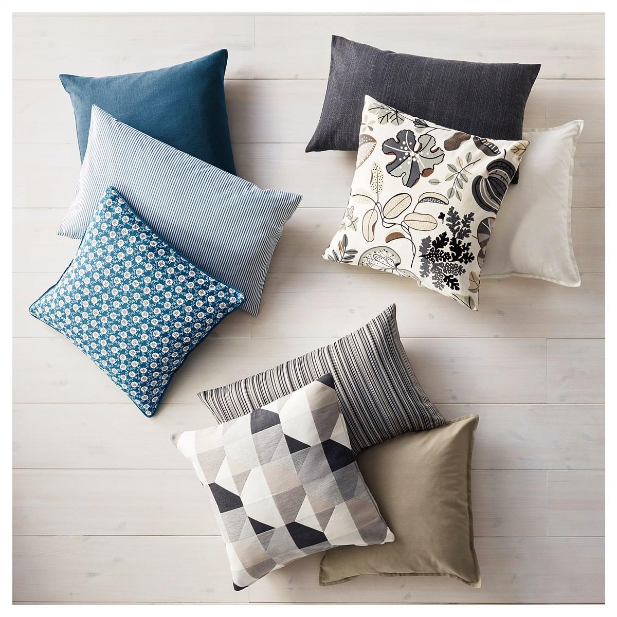 Красивые подушки Икеа