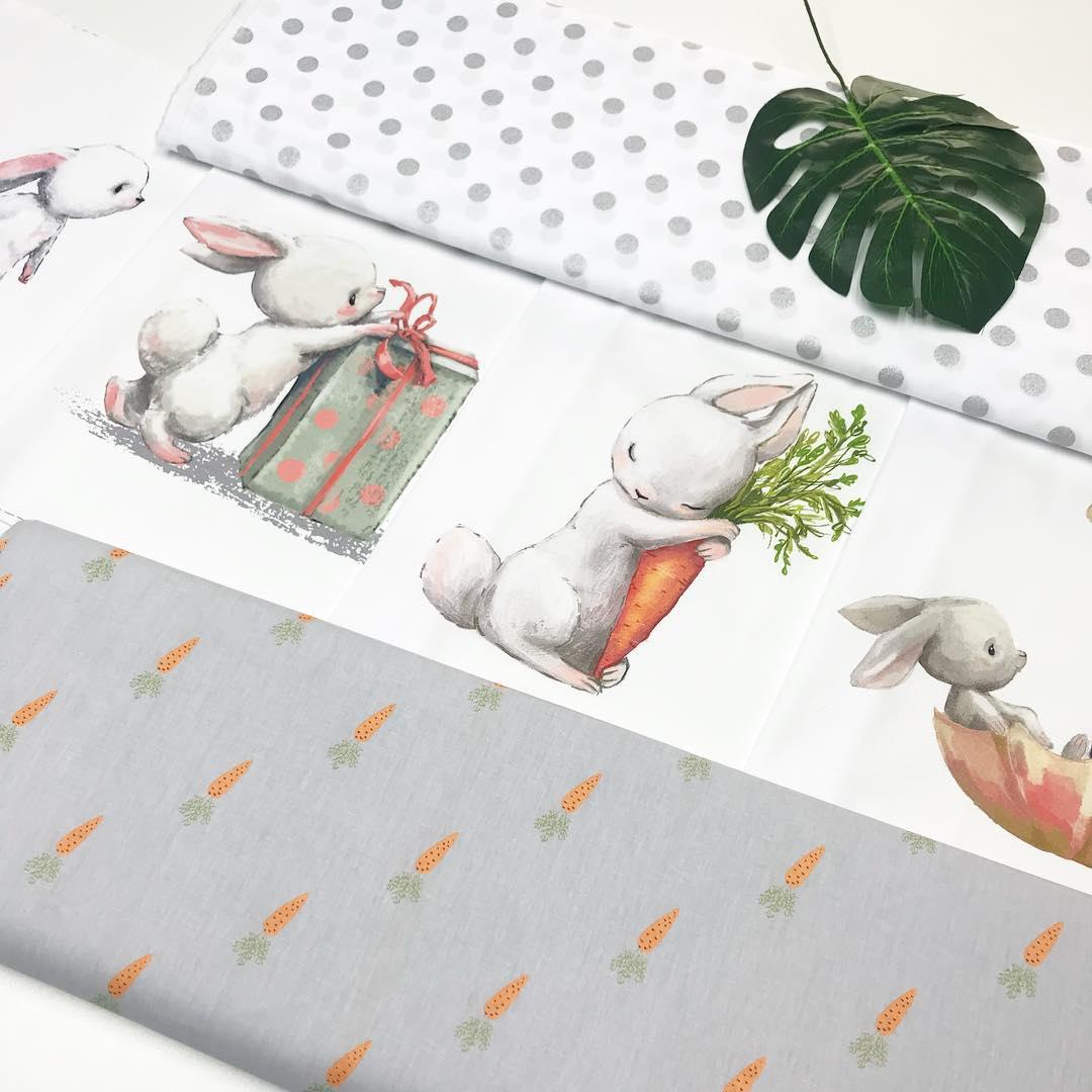 Ткани для пошива бортиков