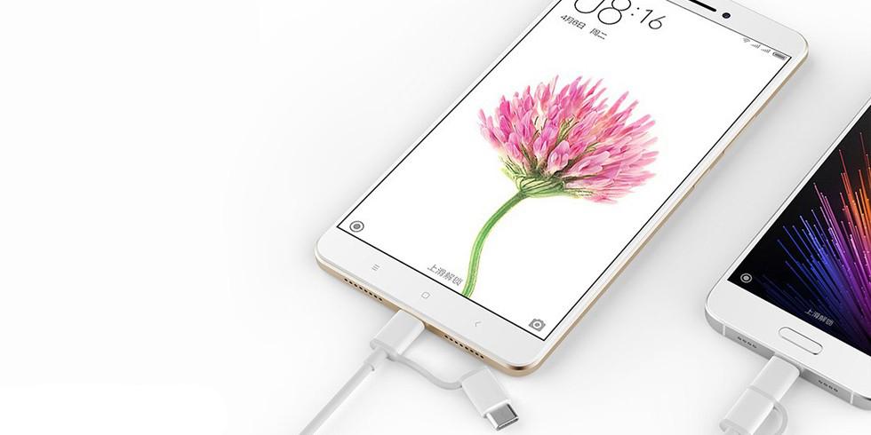 Кабель 2 в 1 USB Type-C/Micro Xiaomi Zmi 100 см AL501 (белый)