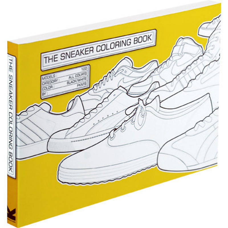 Раскраска The Sneaker Coloring Book