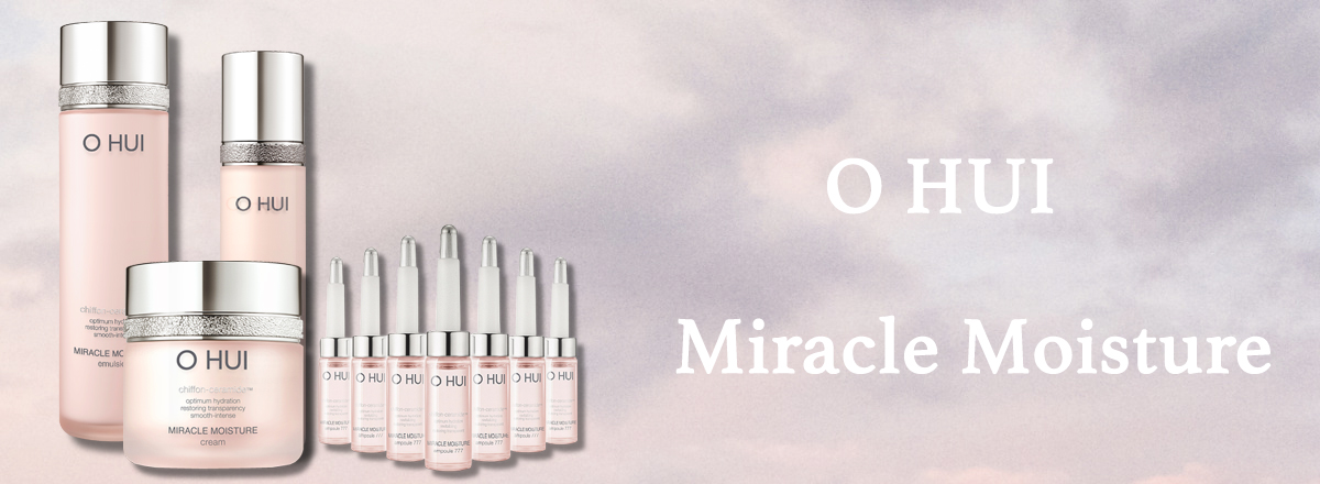 Раздел корейской косметики O Hui Miracle Moisture cream