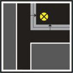 Аварийные светильники устанавливаются в местах изменения уровня пола