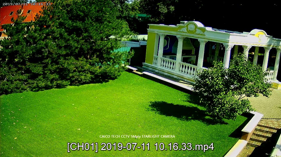 CAICO TECH CCTV CAMERA ZOOM x5 цветное изображение 5Mpix  mod: 5D50T STARLIGHT