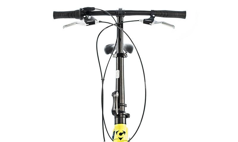 Складной руль и седло для велосипеда