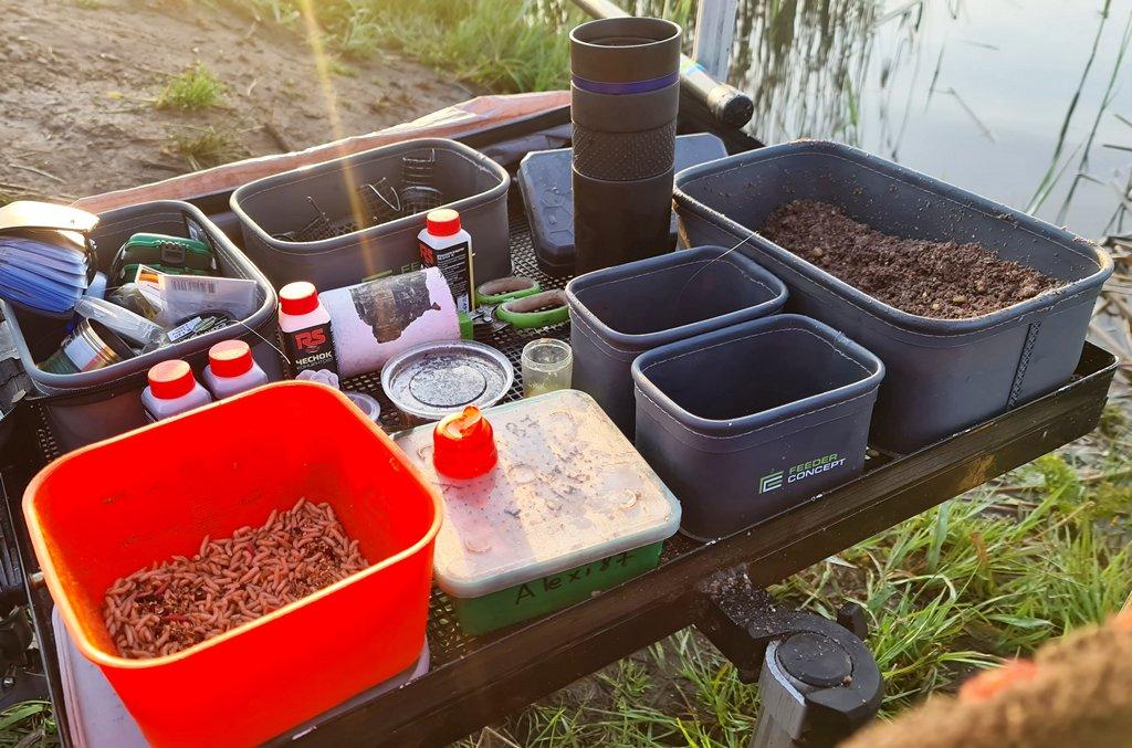 EVA Емкости для рыбалки