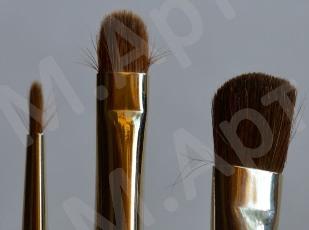 Как исправить замятые кисти для макияжа