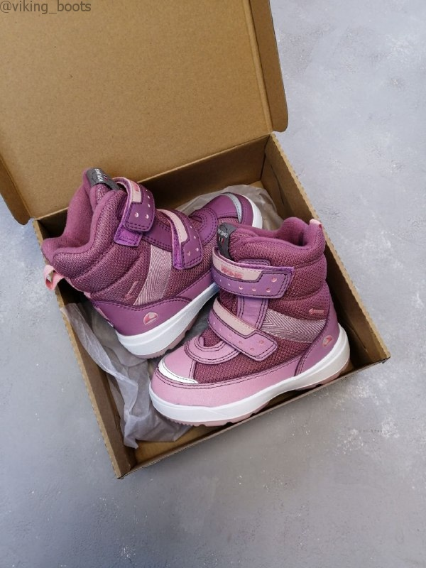 Ботинки Viking Play II R GTX Dark Pink/Light Pink