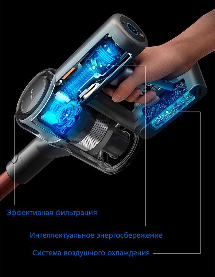 Беспроводной ручной пылесос Dreame V11 Vacuum Cleaner Global  долговечность