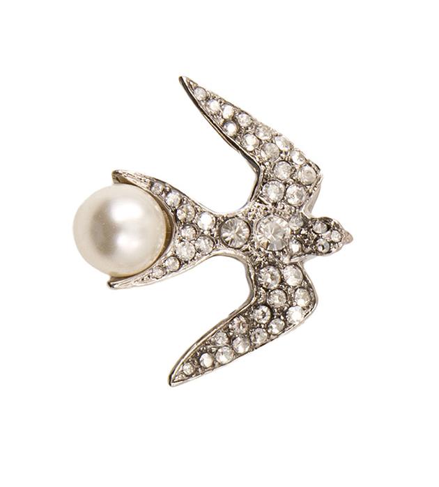 элегантная брошь Swallow Silver от Schield