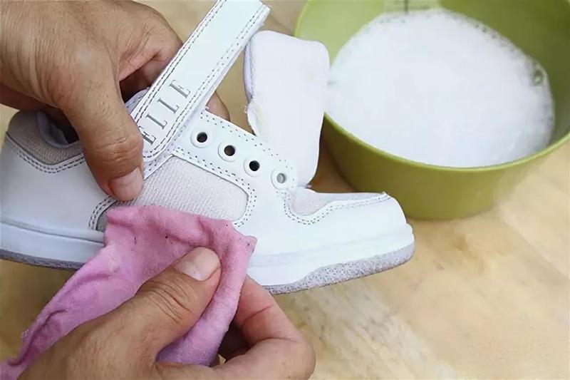 Правильно стираем и сушим кроссовки - 2