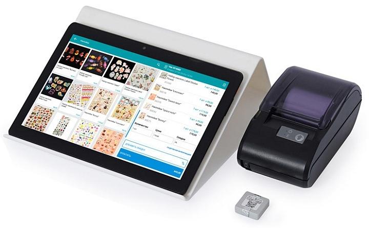 Комплект онлайн-кассы с управляющим планшетом от компании ЕКАМ