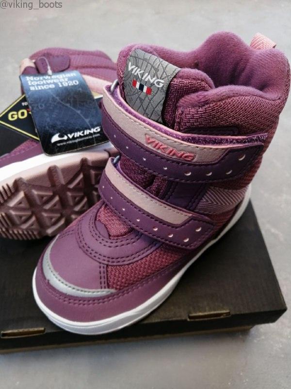 Ботинки Viking Play II R GTX купить в розовом цвете (сезон 2019-2020) можно в интернет-магазине Viking-boots