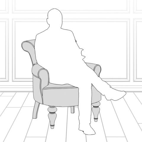 Кресло KREIND Перфетто классическая мебель купить со скидкой